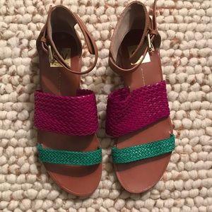 DV Dolce Vita braided sandals barely worn